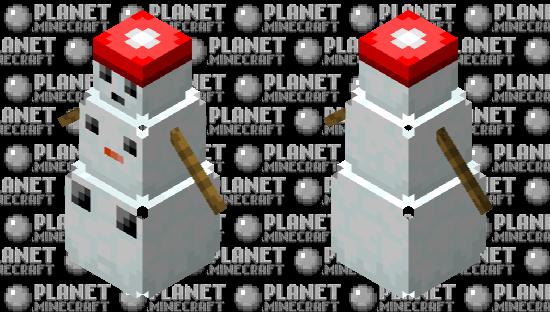 Snowball or Powder puff Minecraft Skin