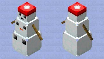 Snowball or Powder puff Minecraft Mob Skin