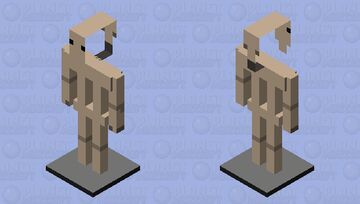 Star Wars The Clone Wars B1 Battle Droid Minecraft Mob Skin
