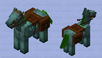 drowned horse Minecraft Mob Skin
