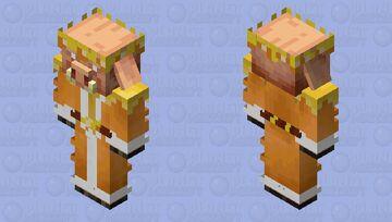 King Piglin Minecraft Mob Skin