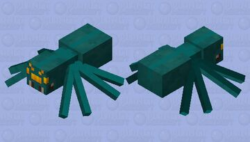 Spider Minecraft Mob Skin