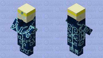 Elve/magic priest Minecraft Mob Skin