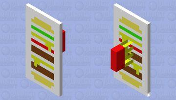 Burger Shield Minecraft Mob Skin