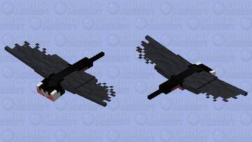 Hollow Knight - Grimmchild [Phantom] Minecraft Mob Skin