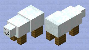Polar Golem Minecraft Mob Skin