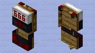 I dont want to sleep Minecraft Mob Skin