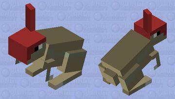 Bebe parasaurolofo Minecraft Mob Skin