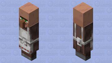 Cursed minecraft villager butcher Minecraft Mob Skin