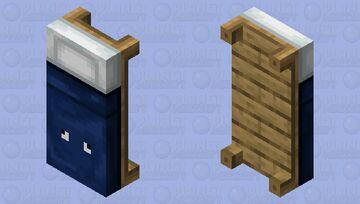 Squid bed Minecraft Mob Skin