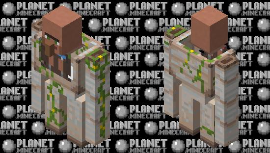 Villager mech Minecraft Skin