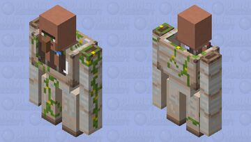 Villager mech Minecraft Mob Skin