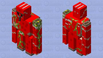 CORONA GOLEM Minecraft Mob Skin
