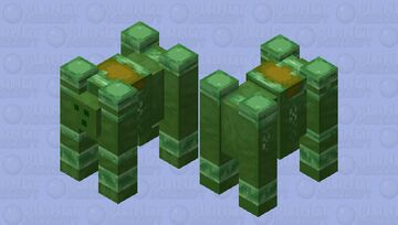 infected ravager by slime virus ;] Minecraft Mob Skin
