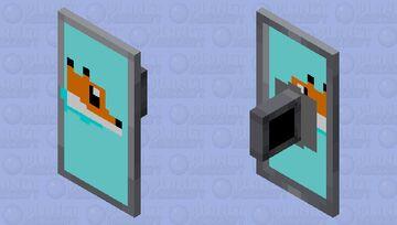 Fox Shield Minecraft Mob Skin