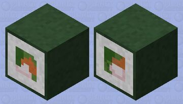 Sushi Shulker box Minecraft Mob Skin