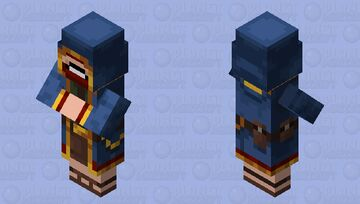 The Wandering Notch Minecraft Mob Skin