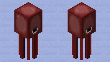 A More Accurate Squid Minecraft Mob Skin