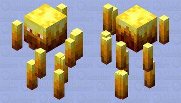 Mega blaze Minecraft Mob Skin