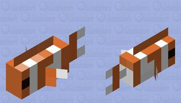 Clownfish Minecraft Mob Skin
