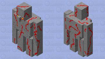 Redstone Golem (Dungeons) Minecraft Mob Skin