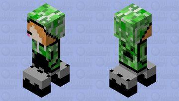 Hoodie creeper Minecraft Mob Skin