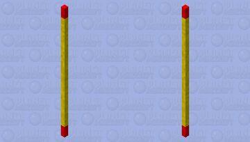 Monkey King's Stick/staff Minecraft Mob Skin