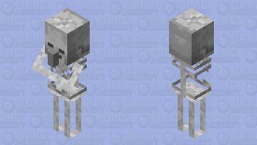 Skeleton Villager Minecraft Mob Skin