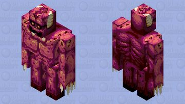 ₣Ⱡ₳Ɽ₲Ø₦, the Demon from the Seventh Circle Minecraft Mob Skin