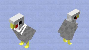 Just a normal chicken Minecraft Mob Skin