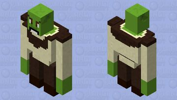 Shrek | Mythical Creatures Skin Contest Minecraft Mob Skin