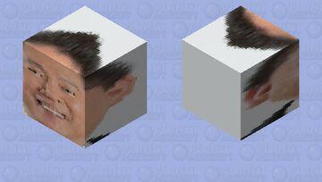 立花孝志 Takashi Tachibana Minecraft Mob Skin