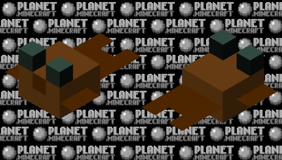 Chocolate Pufferfish (Normal) Minecraft Skin