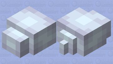 Snow Pile - Mob Skintober 2020 - Day 28 Minecraft Mob Skin
