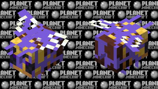 Corrupt Ender Ivy Bee Minecraft Skin