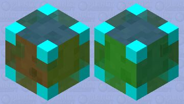 the legendary slime Minecraft Mob Skin