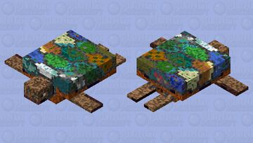 Biome turtle Minecraft Mob Skin