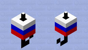 Russia Bobber Minecraft Mob Skin