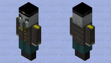 Commanding Vindicator Minecraft Mob Skin