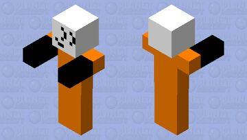 stickmin class-D Minecraft Mob Skin