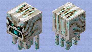 Soulsand Ghast (Shooting) Minecraft Mob Skin