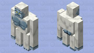 Abominable Snowman (Mythical Creatures) Minecraft Mob Skin