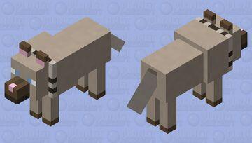 Rockruff (Pokemon) Minecraft Mob Skin