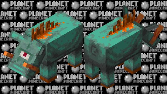 Guardian hoglin Minecraft Skin