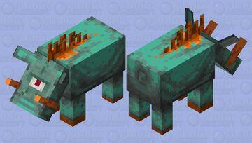 Guardian hoglin Minecraft Mob Skin