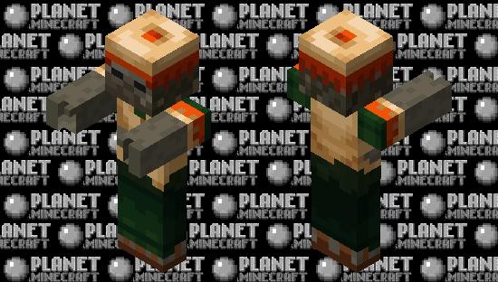 Better desert zombie Minecraft Mob Skin