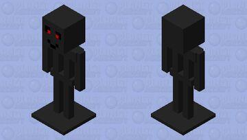 Creepy Armor stand Minecraft Mob Skin