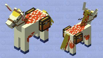 Ponyta (Pokemon) Minecraft Mob Skin