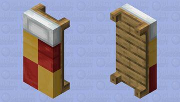 Gryffindor Bed Minecraft Mob Skin