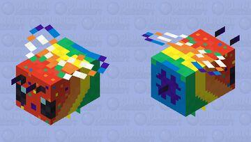 Pride Beee Minecraft Mob Skin